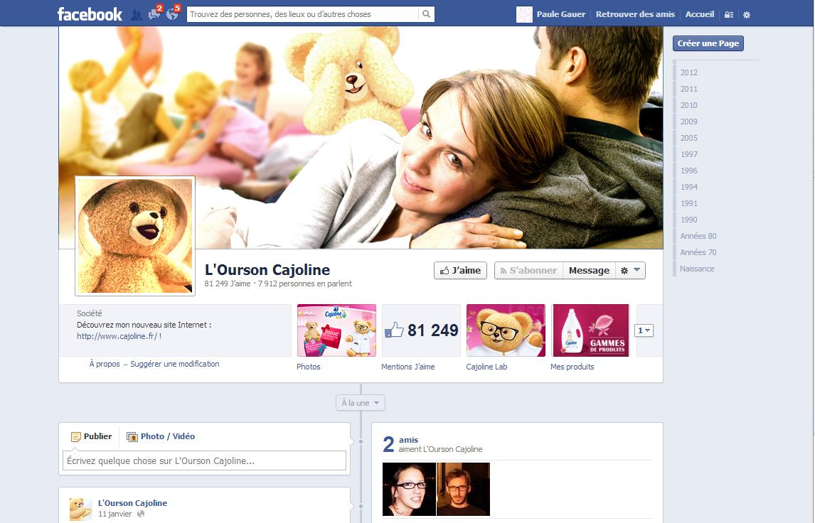 Facebook Cajoline 2